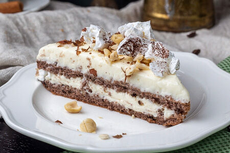 Торт с меренгой
