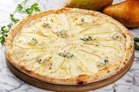 Пицца Горгонзолла с грушей