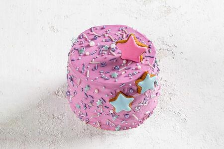 Мини-торт ягодный Звезды
