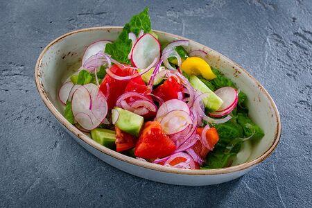 Из свежих овощей без заправки