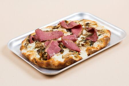 Пицца Пастрами и грибы