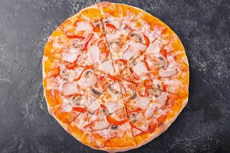 Пицца Курица-грибы