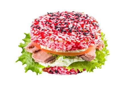 Бургер Рисовый с тунцом