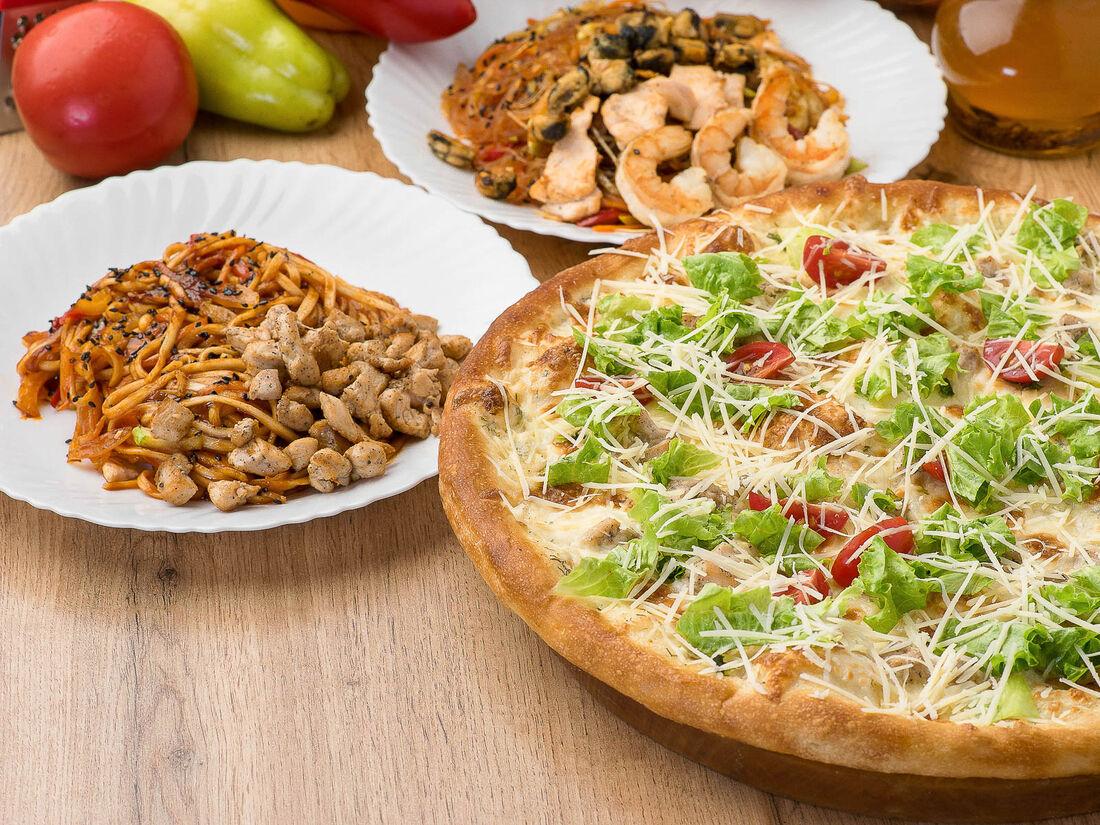 Perfetto pizza & rolls