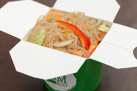 Вок Сингапурская лапша с овощами
