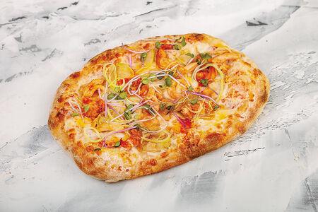 Пиццетта с креветками и осьминогом