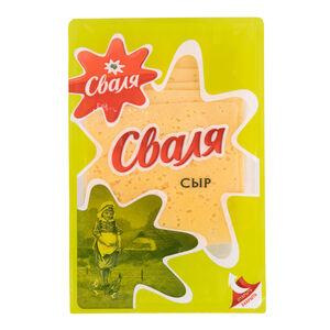 Сыр тильзитер «Сваля» 45% нарезка