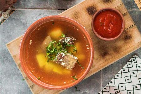 Суп Хашлама с бараниной