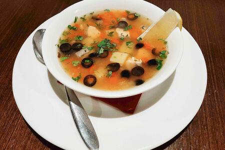Суп Рыбный из семги
