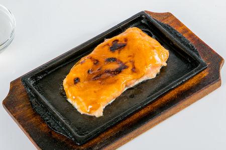 Филе лосося на гриле
