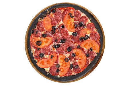 Пицца Дабл Пепперони Блэк