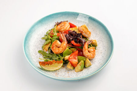 Салат с азиатским дрессингом