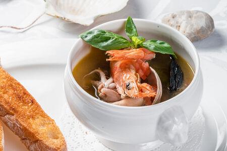 Суп Средиземноморский из морепродуктов