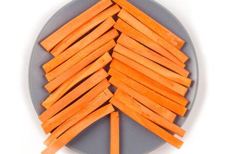 Морковные брусочки