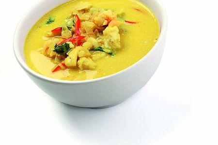 Суп кокосовый карри