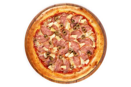 Пицца Гавайская на пышном тесте