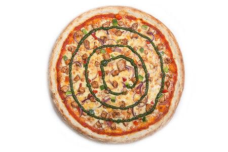 Пицца BBQ с курицей