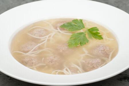Суп Лапша с фрикадельками