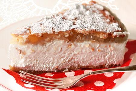 Десерт Рикотта с грушей