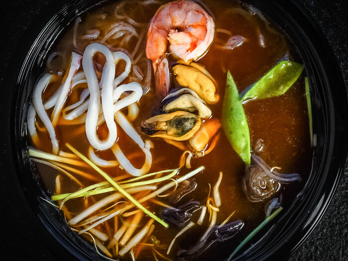 Суп Тайский кисло-сладко-острый