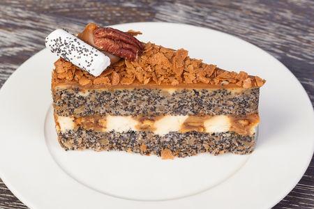 Торт Маково-Карамельный