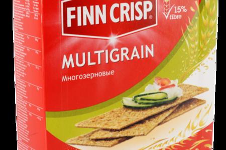 Сухарики Multigrain многозерновые, Finn Crisp