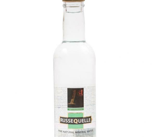 Минеральная родниковая вода RusseQuelle негазированная