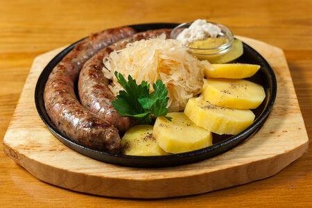 Колбаски нюрнберские