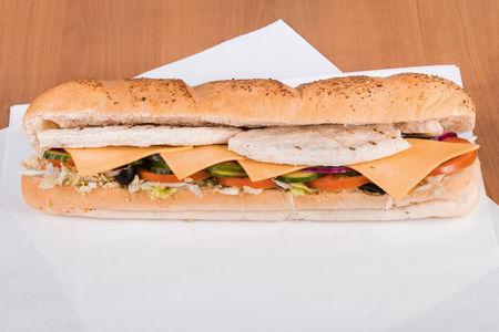 Сэндвич Чикен клаб