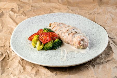 Куриное филе с брокколи