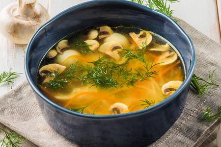 Суп-лапша Домашний с грибами