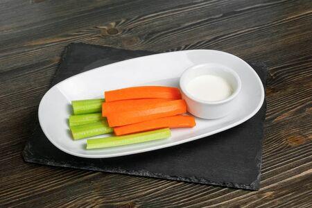 Салат Сельдерей-морковь