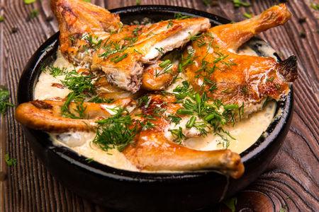 Цыпленок по-рачински