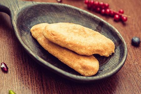 Мчади с сыром сулугуни и тархуном