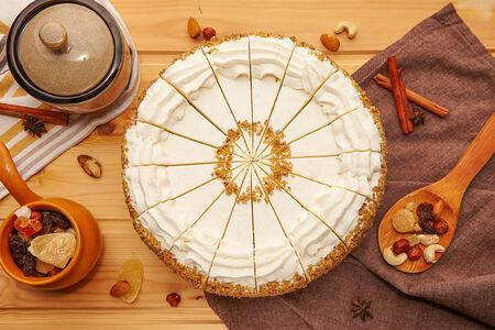 Торт Пряный С Орехами Премиум