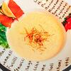 Фото к позиции меню Крем суп из лосося спайси