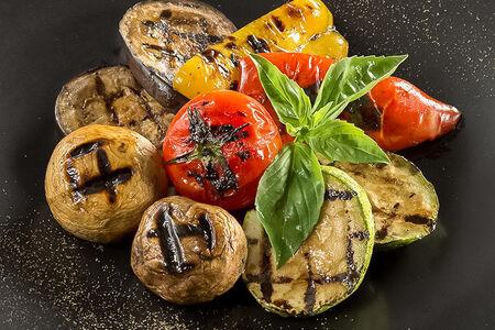 Овощи с мангала
