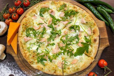 Пицца Филадельфия с лососем