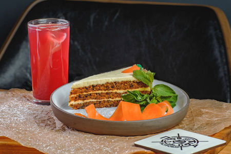 Орехово-морковный торт