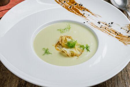 Крем суп из фенхеля