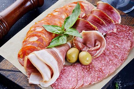 Европейский мясной сет