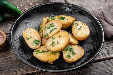 Картофель жареный в мундире
