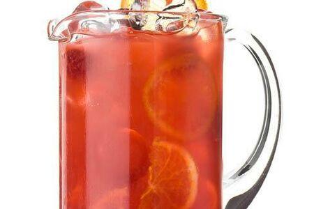 Лимонад маракуйя и малина