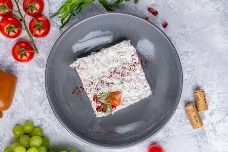 Салат по-грузински с курицей