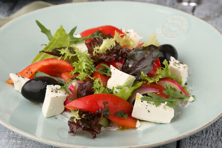 Салат Греческий с сыром фета