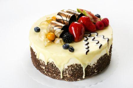 Торт Сливочно-миндальный