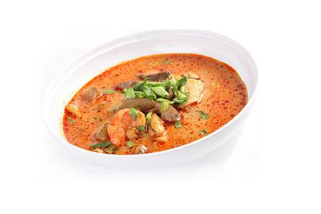 Суп Том-ям с креветками