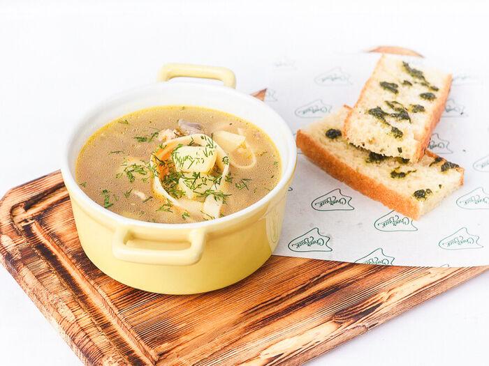 Суп Легкий с куриной грудкой