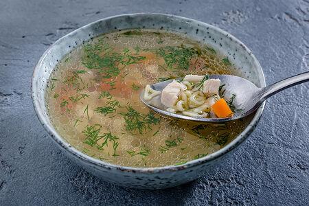 Суп куриный с макарончиками
