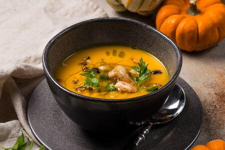 Суп Тыквенный с креветками